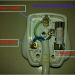 How to wiring a plug 13 ampere