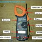 Digital AC Clamp Meter