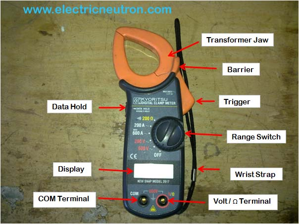 Digital Ac Clamp Meter Electrical Engineering Centre