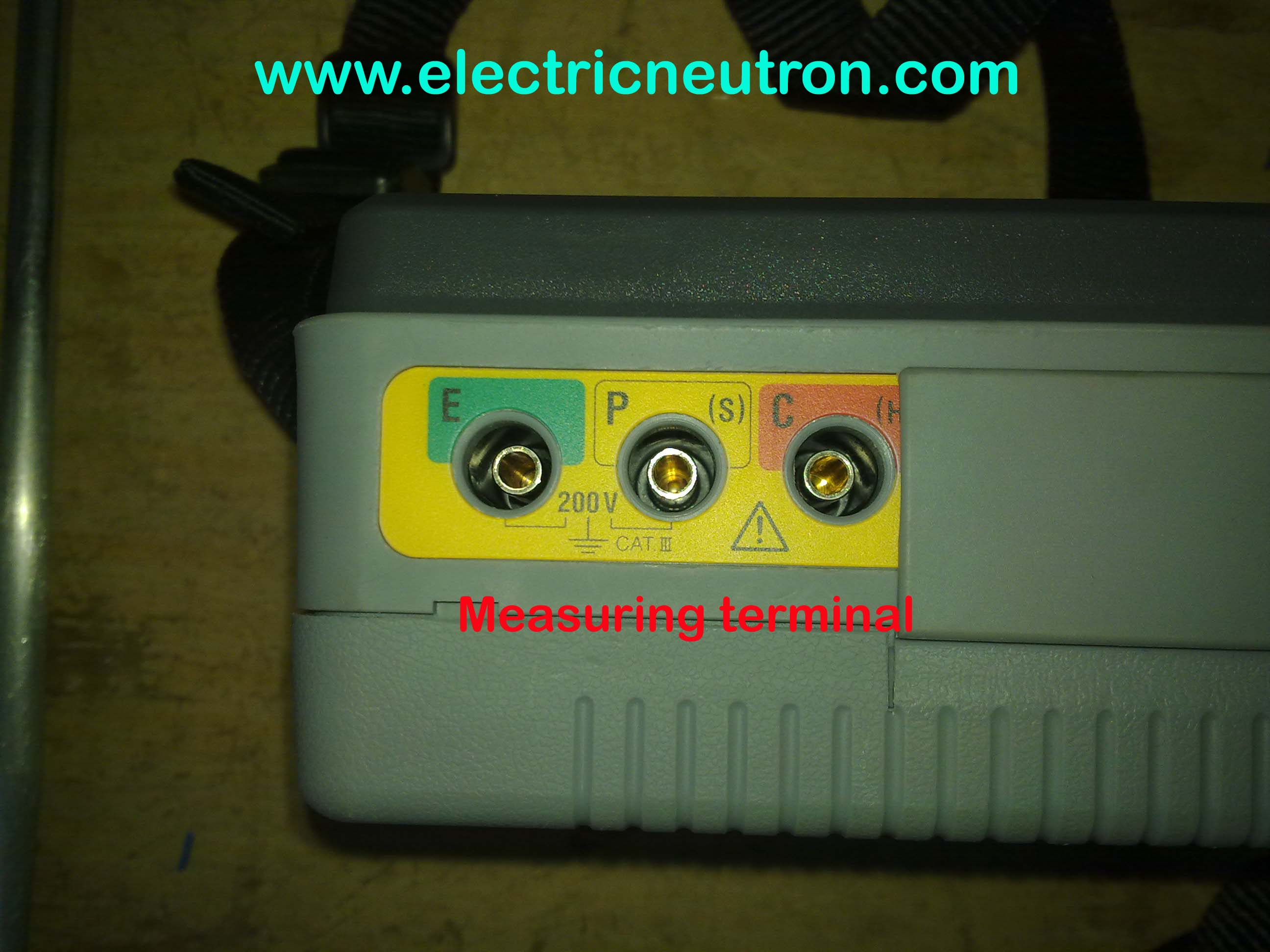 Earthing Resistance Tester - Working principle of overload relay