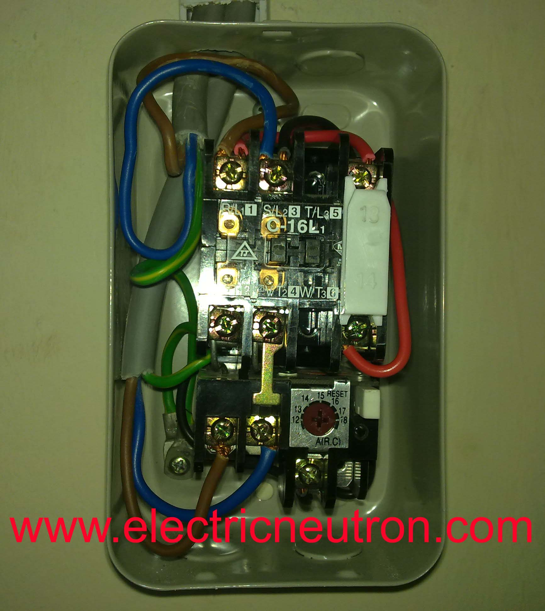 Direct On Line Starter Electrical Engineering Centre Motor Connection Diagram Naturally