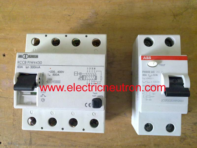 Fine Residual Current Circuit Breaker Electrical Engineering Centre Wiring 101 Orsalhahutechinfo