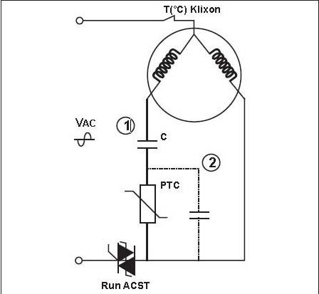 run capacitor motor circuit single phase compressor for air condition electrical engineering compressor start capacitor wiring diagram at suagrazia.org