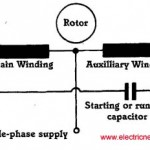 Motor start and run capacitor
