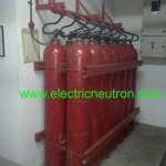 Electrical fire extinguisher