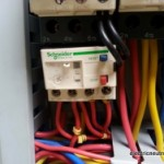 Troubleshooting guide when motor overload trip