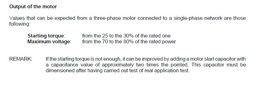 How to use three phase motor in single phase power supply ...