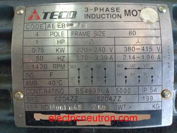 nameplate voltage teco 3 phase induction motor wiring diagram circuit and teco motor wiring diagram at honlapkeszites.co