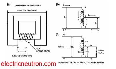 Autotransformer Basicy on auto transformer motor starter diagram